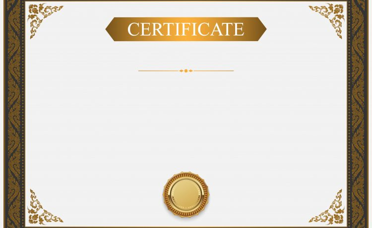 White Card Certificate